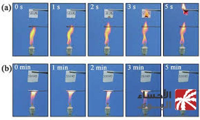 علماء يخترعون ورقاً مقاوماً للماء والنار