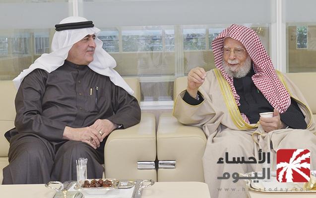 مدير جامعة الملك فيصل يبحث تعزيز التواصل مع هيئة كبار العلماء -صحيفة الاحساء اليوم ( الأحساء تودي)